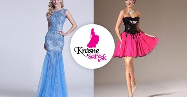 01a6234dc385 Krásne spoločenské šaty Vyberte si z rôznych druhov