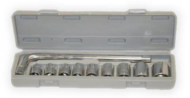 Kvalitná 11 – dielna gola sada v praktickom plastovom obale. Vhodná na profesionálne aj bežné používanie. Dôležité vybavenie každej dielne.