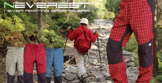 a1b210e38 Pánske nohavice Neverest Pohodlné oblečenie na turistiku, šport i voľný čas