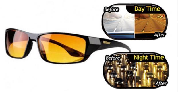 d974723bc Okuliare HD Vision, ktoré ochránia vaše oči a zlepšia viditeľnosť v hmle, v  hustom daždi, pri stmievaní, v noci alebo pri ostrom slnku.