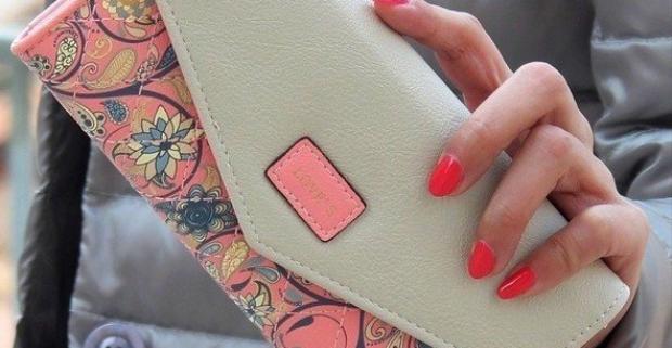 269d07e9d5b5 Elegantné dámske peňaženky s kvetinovým vzorom v 5 farbách. Jedinečný  doplnok