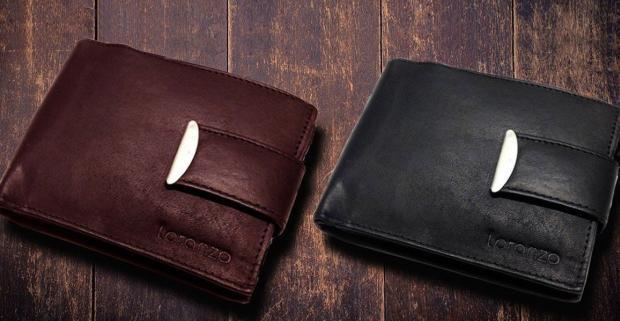 2b4c4d1a4 Každodenný módny doplnok, kvalitné pánske peňaženky z pravej hovädzej kože.  Inšpirované talianskym dizajnom Loramzo, 8 modelov.