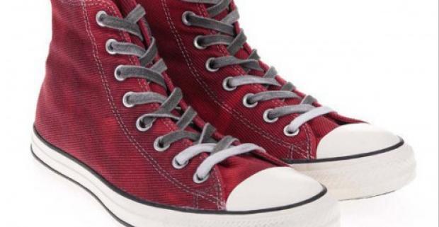 Červené pánske členkové tenisky Converse Chuck Taylor All Star. Pohodlné na každodenné  nosenie a prevedené v športovom dizajne. b2a7143e36