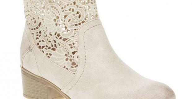 Dámske jarné členkové čižmy s krajkou. Vyrobené z kvalitného materiálu a  prevedené v luxusnom dizajne v rôznych veľkostiach. bca34a93aa8