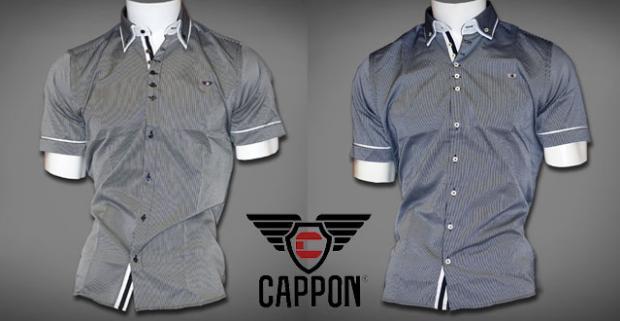 2dc87080afad Elegantné pánske košele značky CAPPON. Moderné