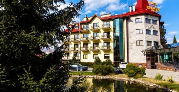 Prežite vynikajúcu dovolenku v nádhernom prostredí kúpeľného mestečka Muszyna. Luxusný pobyt v 4* hoteli Klimek s polpenziou a wellness.
