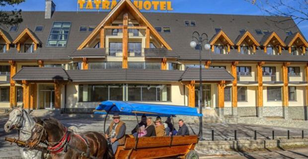 Skvelý relax s výhľadom na Tatry v najvyššie položenom hoteli v poľskom Zakopanom. Rodinná dovolenka v hoteli Tatra s polpenziou a wellness.