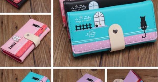 668bb80192ac Elegantný a štýlový módny doplnok - farebná dámska peňaženka