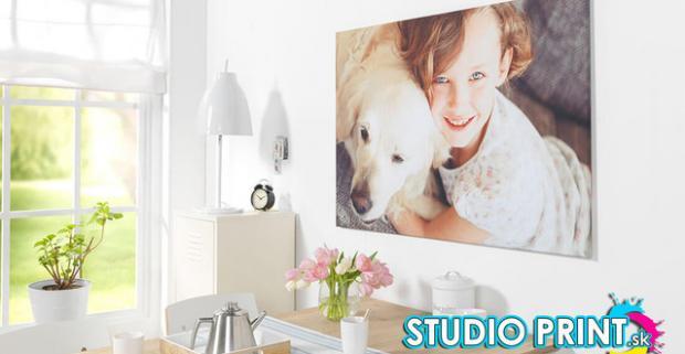 Vytvorte si fotoobraz - originálny bytový doplnok na stenu. Tlač fotografií na fotoplátno s výberom 21 rozmerov.