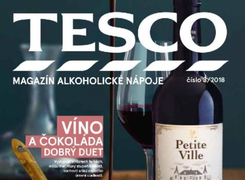 Tesco - Magazín alkoholické nápoje