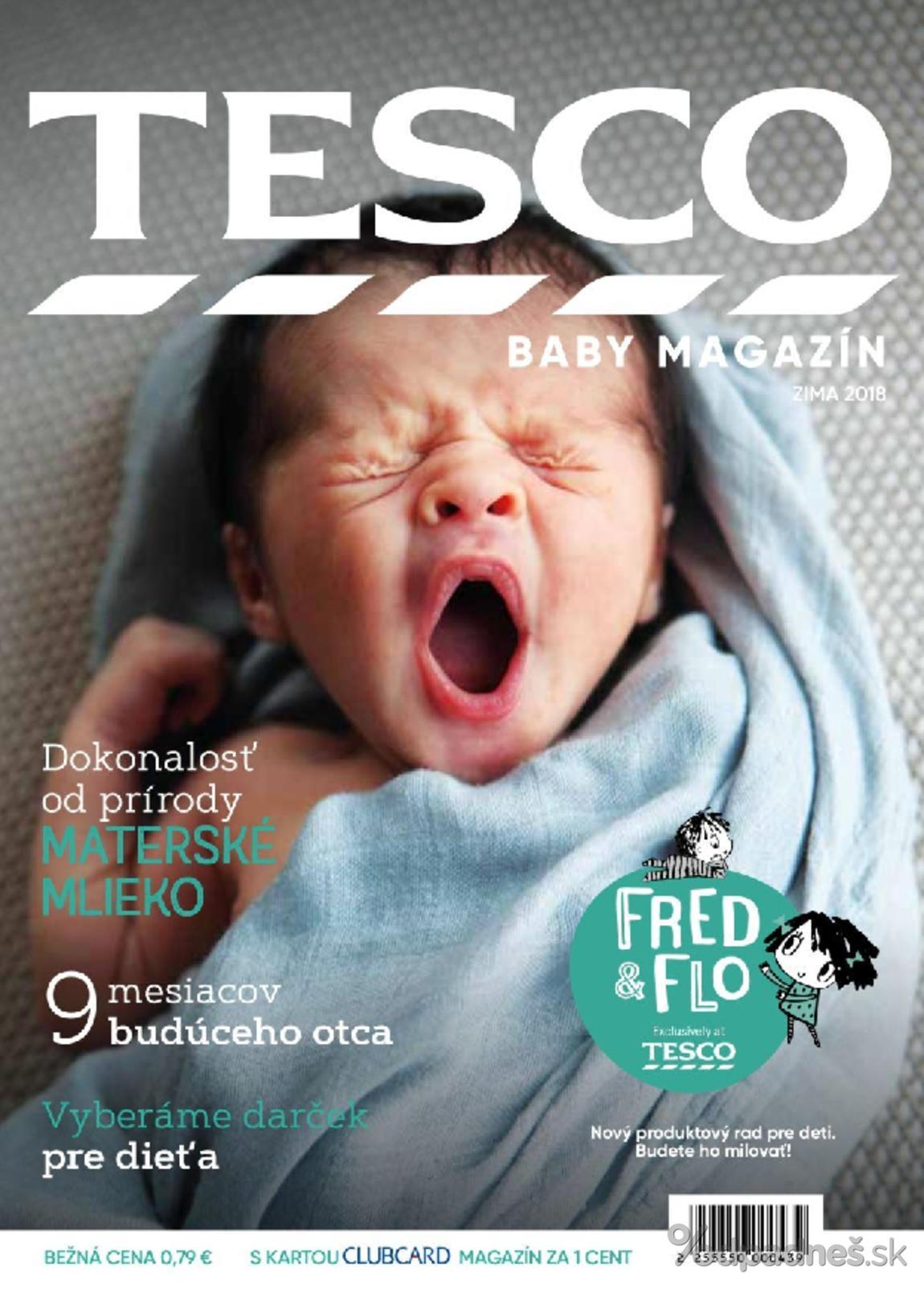 1. stránka Tesco letáku