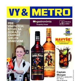 METRO letáky - gastronómia trvanlivý tovar od 8.10.2014