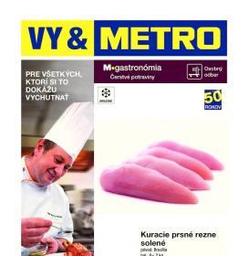 METRO letáky - Gastronómia čerstvé potraviny