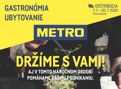 METRO - Gastronómia ubytovanie distribúcia