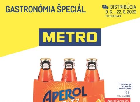 METRO - Gastronómia špeciál distribúcia