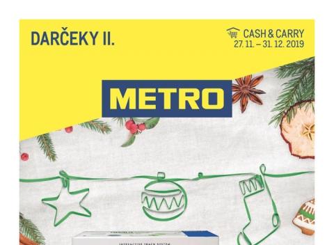 METRO - Darčeky II.