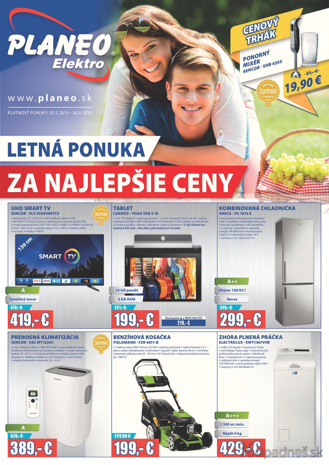 e2108751a Planeo Elektro leták platný do 26.6.2019   Letákovo.sk