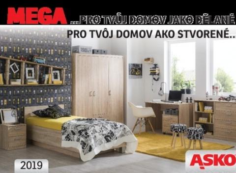 03d3eddc321b Asko nábytok - katalóg nábytku Mega