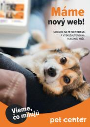 8. stránka Pet Center letáku