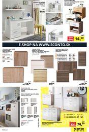15. stránka Sconto nábytok letáku