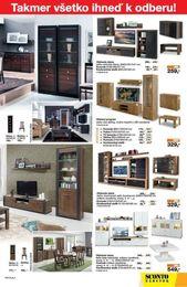 3. stránka Sconto nábytok letáku