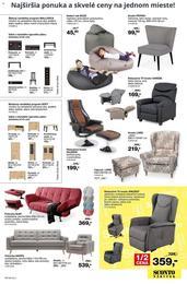 5. stránka Sconto nábytok letáku