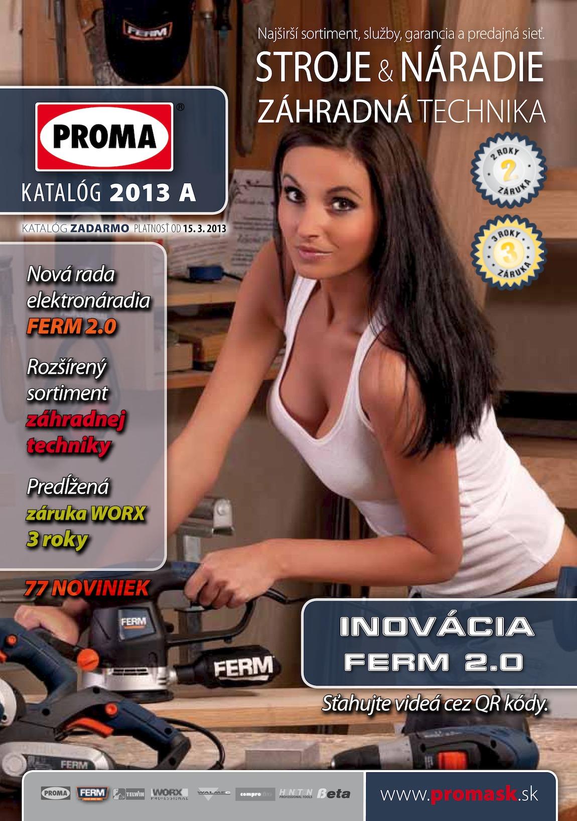 1. stránka Proma letáku