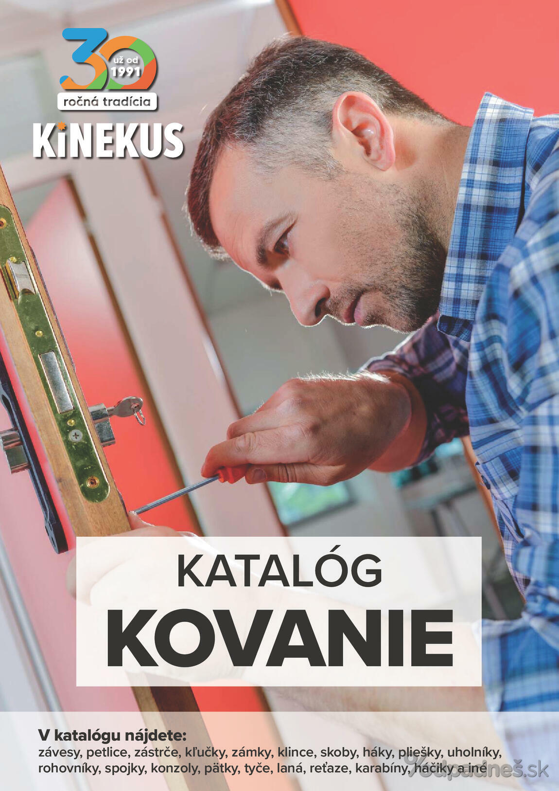 1. stránka Kinekus letáku