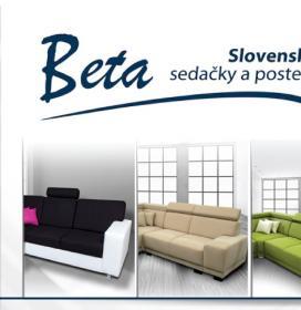 BETA Slovenské sedačky a postele