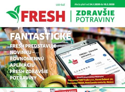 Fresh - Západné a Stredné Slovensko
