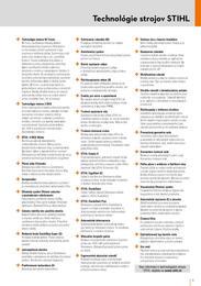 5. stránka Stihl letáku