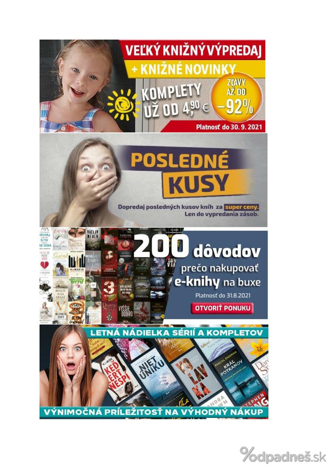 1. stránka Media klub letáku
