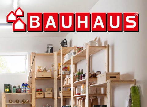 BAUHAUS - Regály a úložné systémy