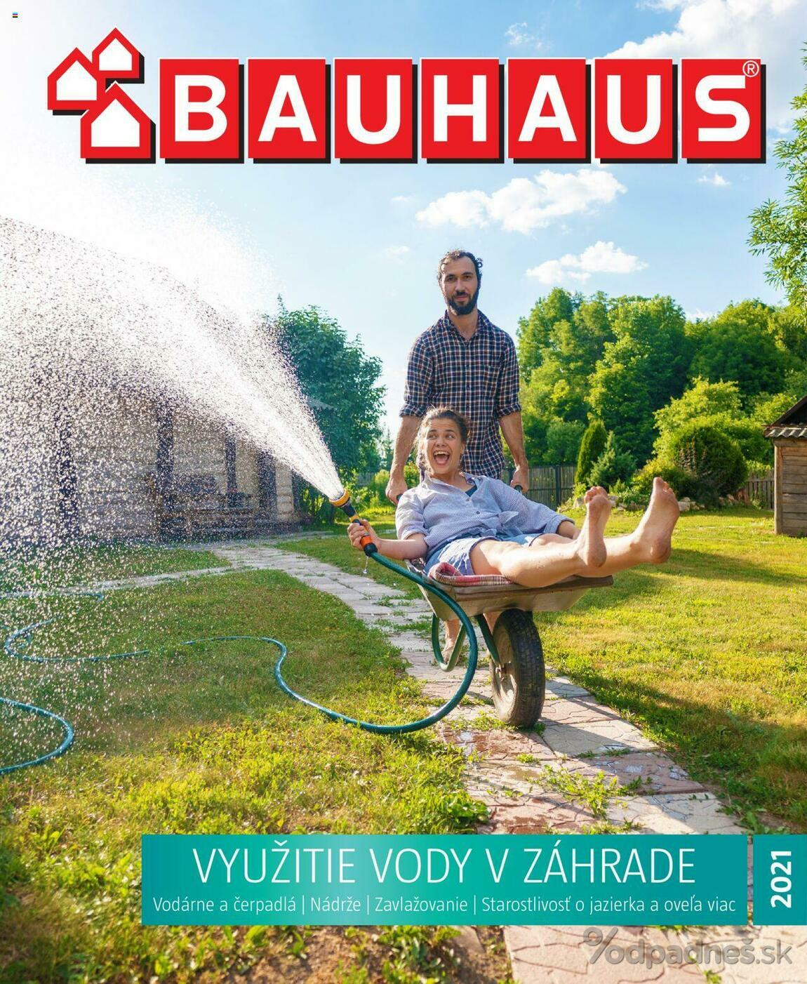 1. stránka BAUHAUS letáku